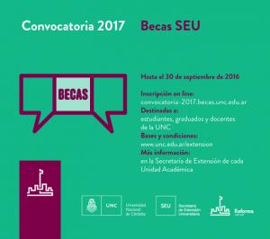 Convocatoria 2017 - Becas SEU