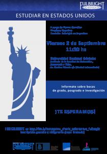 Flyer Estudiar en Estados Unidos