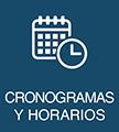 Cronograma y horarios