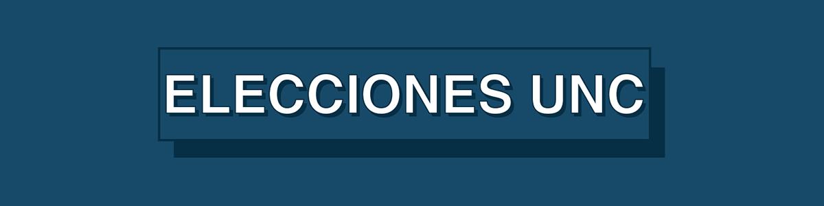 Elecciones UNC